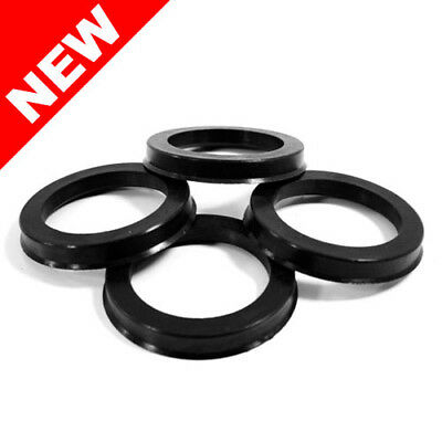 67.10 MM ID x 72.62 MM OD - POLYCARBONATE HUB CENTRIC RINGS - SET OF 4