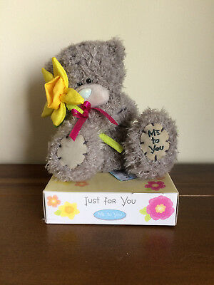 Me To You Tatty Teddy Bear with Yellow Daffodil Easter Gift