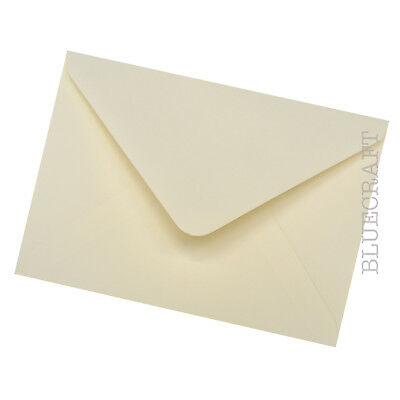 50 x A6 C6 Ivory 100gsm Luxury Envelopes for Cardmaking - 4.48 x 6.38 inches