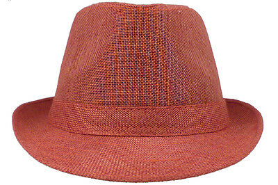 New Fedora Trilby Hat Cap Men Women Unisex Ball Golf Bucket Different Colors