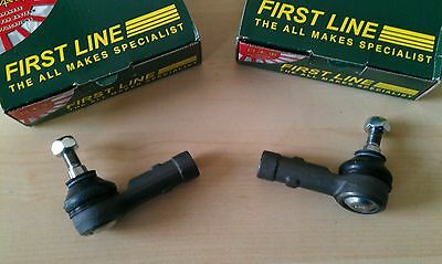 TRACK TIE ROD END PAIR for FORD ESCORT MK 2