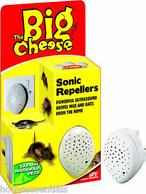 STV 728 Ultra Sonic 3 Pack Mouse Repeller Rat Repellent Humane Deterrent