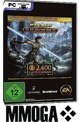 2400 SWTOR Kartellmünzen Key - Star Wars: The Old Republic Cartel Coins