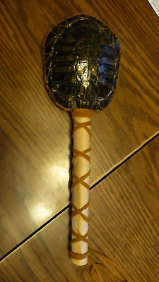 Native American Indian Ceremonial Turtle Rattle