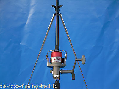 Sea Fishing Beach Kit Set Ngt 12Ft Beachcaster Rod+Ln70 Reel+6Ft Parker Tripod