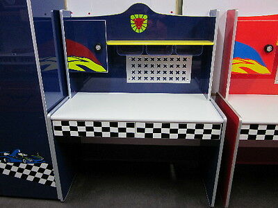 Brand New Ferocious Lion  Theme Desk [Blue] - High Quality Kids Furniture