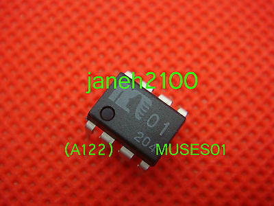 1PCS Genuine MUSES01 High Quality Audio , J-FET Input,Dual Operational Amplifier