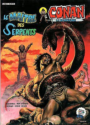 Conan (Artima Color Marvel Geant) Le Maitre Des Serpents Aredit 1984 Tbe