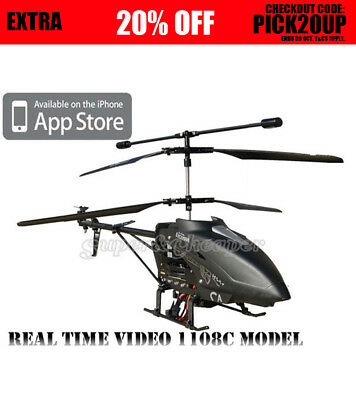 RC Iphone Ipad Itouch Wifi 3.5CH Gyro Video Camera Helicopter LH1108C