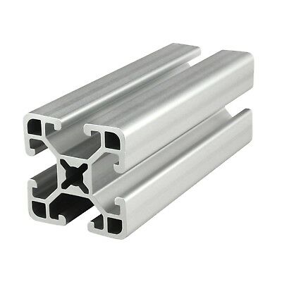 "80/20 Inc 15 Series 1.5"" x 1.5"" Aluminum Extrusion Part #1515-ULS x 96.5"" Long N"