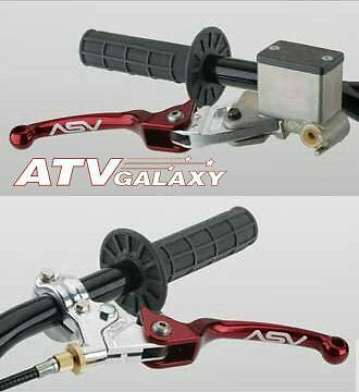 ASV F3 Front Brake Clutch Lever Kit RED Honda TRX450R TRX 450R 450 R 04 05 06