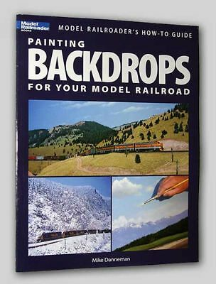 PAINTING BACKDROPS for Your RR - Kalmbach / Model Railroader #12425 FREE SHIP