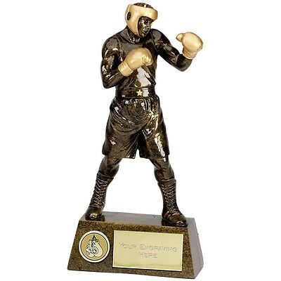 "BOXING Boxer Trophy 7.25"" or 8.75"" or 9.5"" or 10.5"" FREE ENGRAVING Personalised"