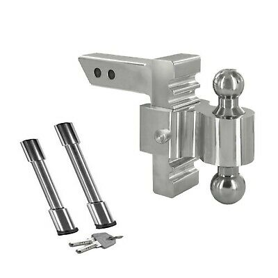 """Andersen 3410-3492 6"""" Rapid Hitch and 2 locking pins; 2"""" x 2-5/16"""" combo ball"""