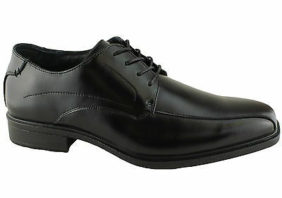 Hush Puppies Merchant Mens Extra Wide Leather Comfortable Dress Shoes/lace Ups
