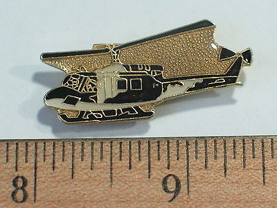 UH-1 Iroquois Huey Helicopter Vintage Enamel Pin