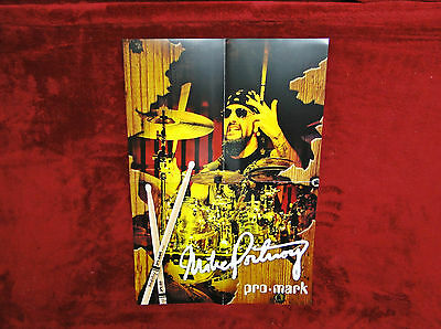 Dream Theater *Mike Portnoy* Pro Mark Poster & Zoom Promo    NEW    RARE