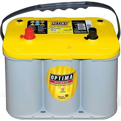 Optima YellowTop YT S 4,2 12V 55Ah AGM Batterie Versorgungs Starter US CAR HIFI