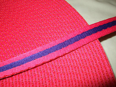 TWO metres Polyester Padded Webbing, 19mm wide