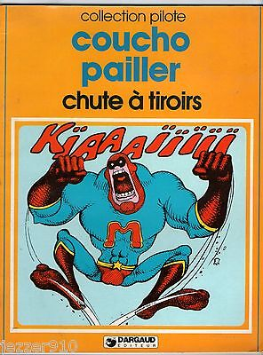 COLLECTION PILOTE n°46 ¤ COUCHO PAILLER ¤ CHUTE A TIROIRS ¤ EO 1981 ¤ DARGAUD