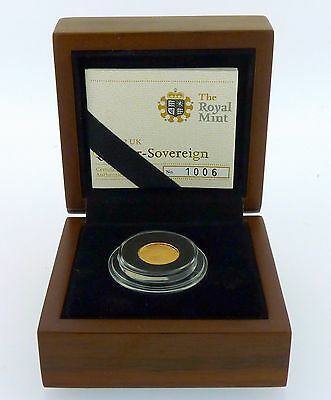 Royal Mint 2012 Gold Proof Quarter Sovereign