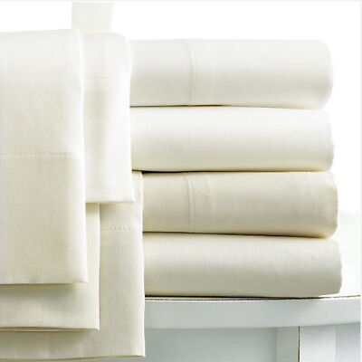 Linens Limited Egyptian Cotton 400 Thread Count Housewife Pillow Cases, Pair