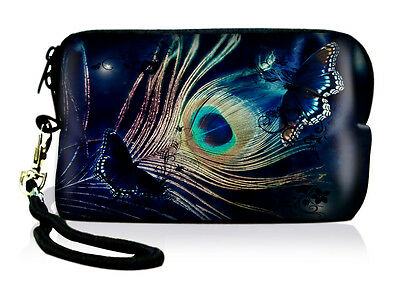 Peacock Digital Camera Case Bag for Nikon Coolpix S3000 S6000 S4000 S8200 S6200