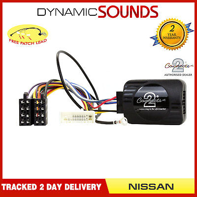 CTSNS001.2 Stalk Control Adaptor Phone Button Support For Nissan Qashqai X Trail