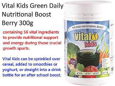300g VITAL KIDS Green Daily Nutritional Boost for Children SUPERFOOD POWDER