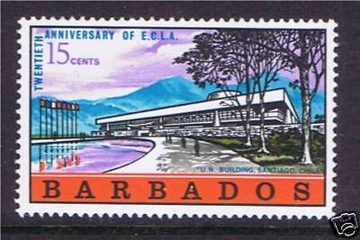 Barbados 1968 Economic Commisssion SG371 MNH