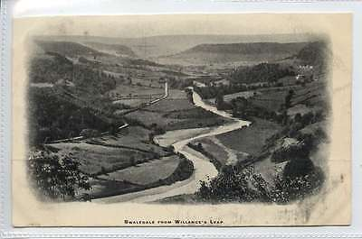 (Lc285-343) SWALEDALE  from Willances Leap,   c1920  Unused G-VG