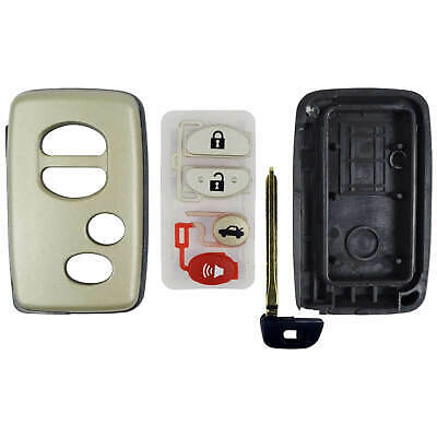 New Remote Smart Prox Key Keyless Fob Replacement Case Shell Housing Key Blade