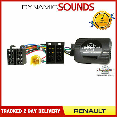 Kenwood Steering Control Adaptor Phone Button Support For Renault Clio Megane