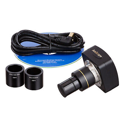 AmScope MU300 3MP USB2.0 Microscope Digital Camera + Software