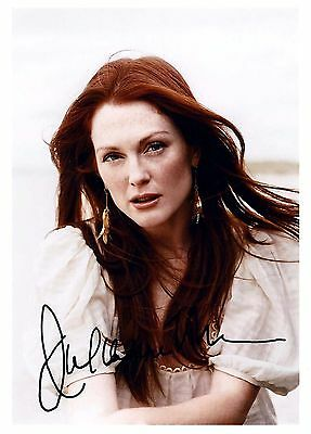 Julianne Moore signed beautiful 5x7 reprint autograph / photograph