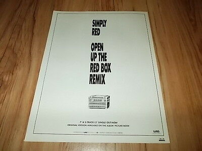 Simply red-magazine advert
