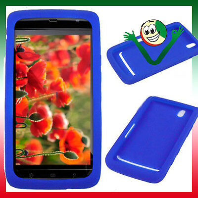 Custodia soft in silicone anti-urto BLU per DELL STREAK