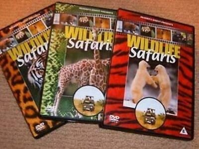 Wildlife Safaris - 3 Dvd Set - Readers Digest