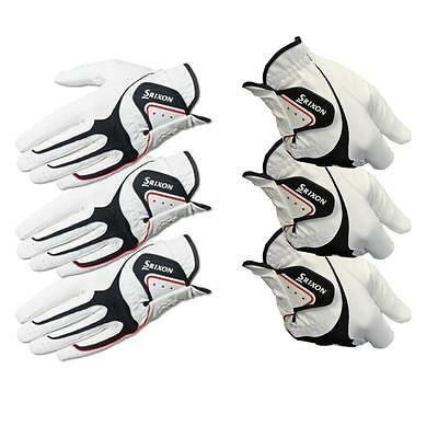 Pack of 3 - 2015 Srixon All Weather Golf Gloves *MANY SIZES*
