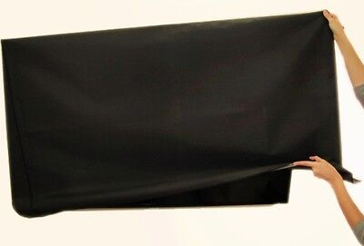Large Flat Screen TV's Marine Grade Nylon Dust Covers For Outdoor, Hotels....