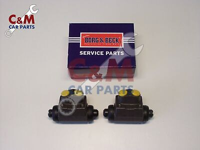 Rear Brake Wheel Cylinder Pair New For Talbot Sunbeam Borg & Beck