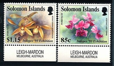 BRITISH SOLOMON ISLANDS - ISOLE SALOMONE - 1993 - INDOPEX '93, Surabaya.