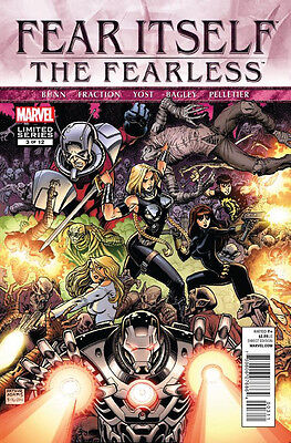 Fear Itself: The Fearless #3 Of 12 Vf/nm Arthur Adams Cover