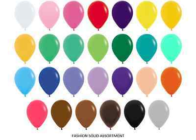 "11"" Air Helium Quality Fashion Solid Wedding Party Balloons 26 Colours Sempertex"