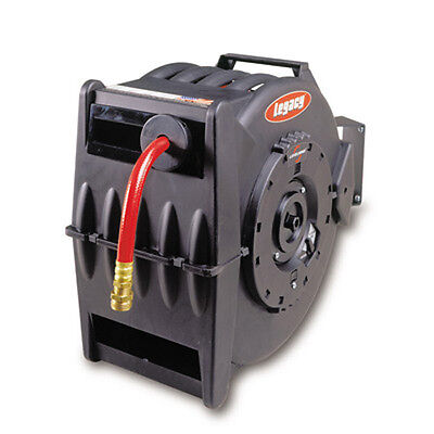 Legacy L8335 1/2 X 50 Air/Water Hose Reel, Levelwind