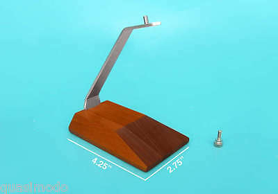 Executive Style Wooden / Metal Aircraft Desk Model Stand (Small)