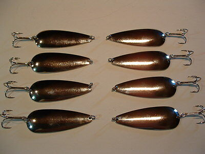 8 Eagle Bay RAINBOW TROUT  Fishing Lures 3//4 ounce Pike Muskie Trout Salmon USA