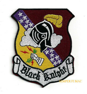 4025Th Srs Black Knights Sac Rb-57 Us Air Force Hat Patch 4080 Wing Yokota Afb
