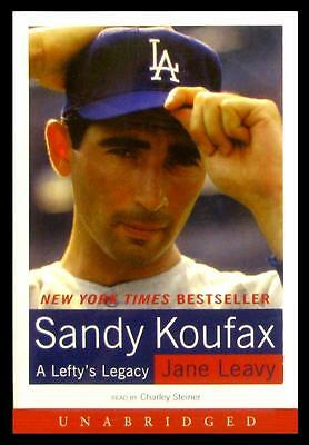 Sandy Koufax A Lefty's Legacy - Audio Book 2002 - Read by Charley Steiner