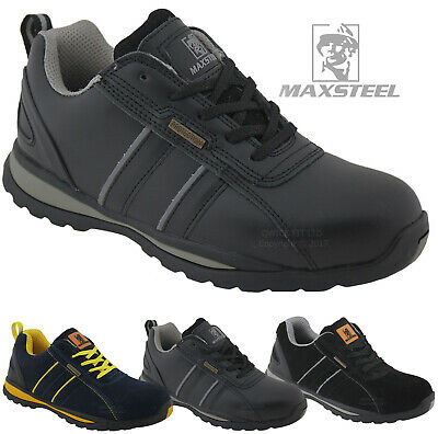 New Mens Ultra Lightweight Steel Toe Cap Safety Work Trainers Shoes Ladies Boots